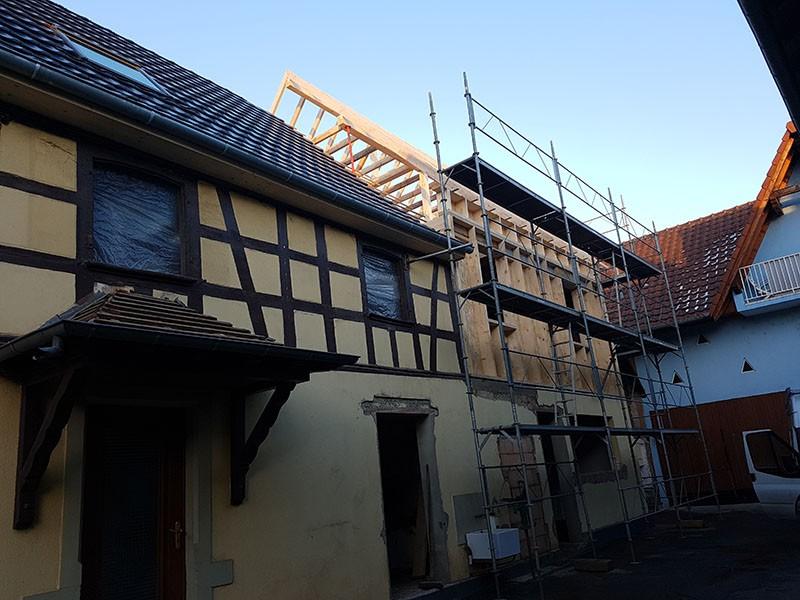 DGCB  Construction maison bois à Strasbourg